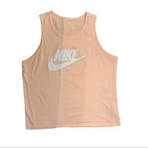 Nike Light Pink Graphic Tank Top